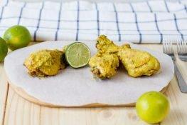 Kurczak w marynacie z masła orzechowego