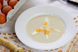 Chrzanowa zupa krem