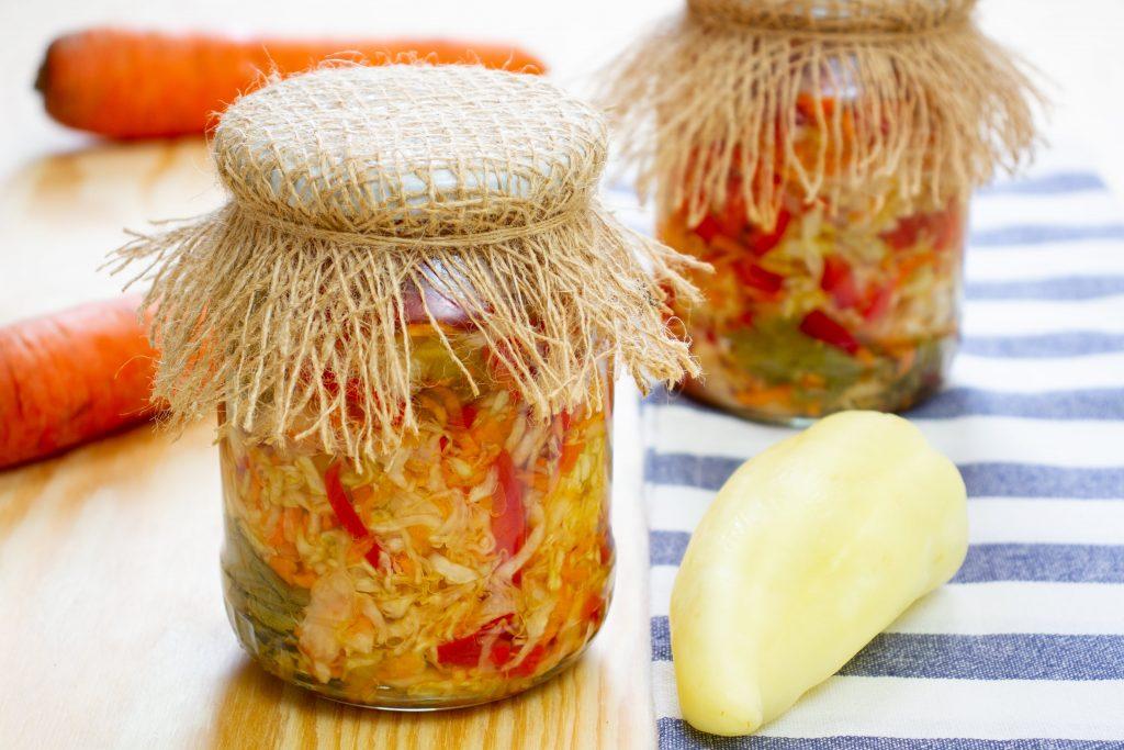 Surówka warzywna do słoika