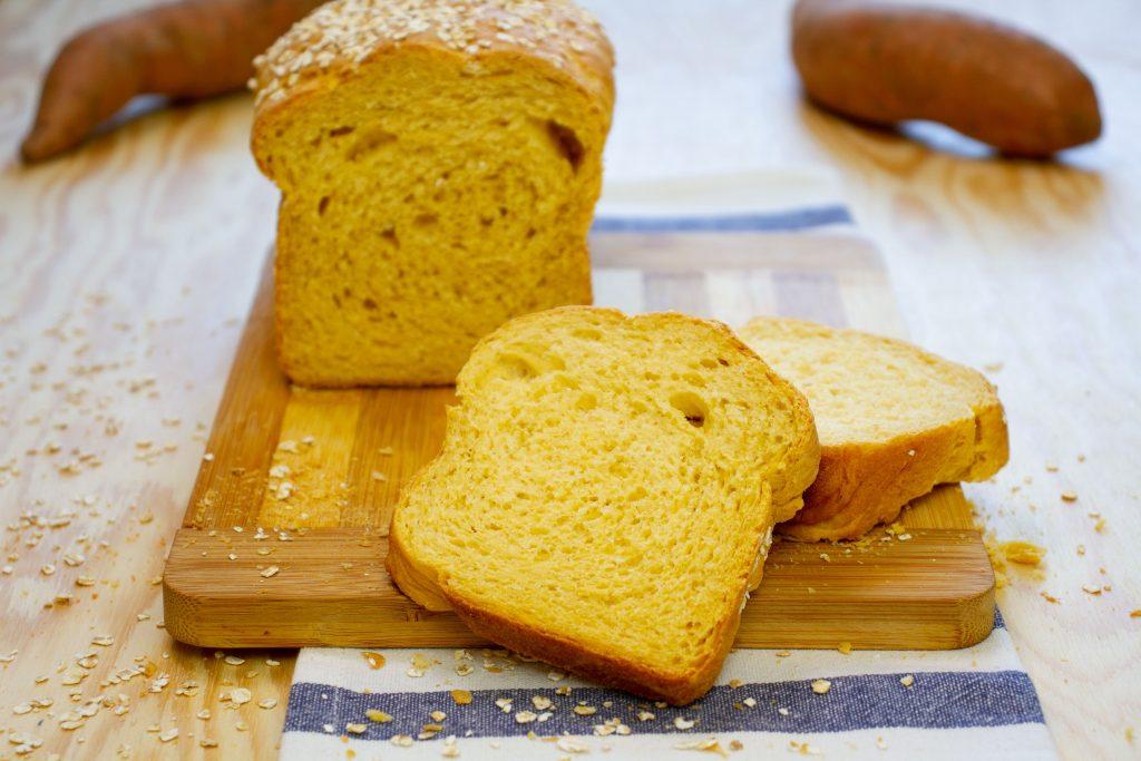 Pyszny chleb ze słodkich ziemniaków