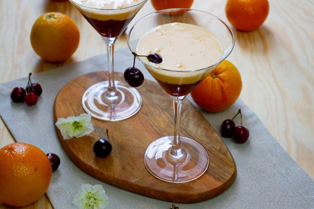 Kogel-mogel z kremowymi owocami